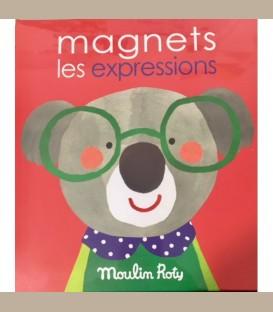 Moulin Roty - Παιχνίδι με μαγνήτες Συναισθήματα Les Popipop +4y