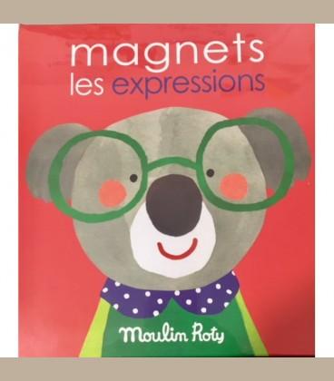 Moulin Roty - Επιτραπέζιο παιχνίδι με μαγνήτες Les Popipop +4y