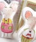 Κούκλες από βαμβακερό καμβά