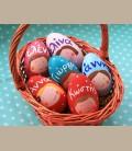 Ξύλινα Πασχαλινά Αυγά Personalized