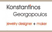 Konstantinos Georgopoulos - jewelry designer and maker